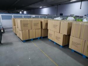 carton packing for cotton tencel blende yarn
