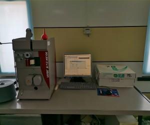 USTER testing equipment
